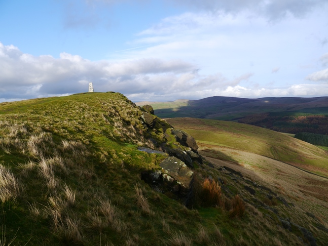 Another view of the top of Shutlingsloe