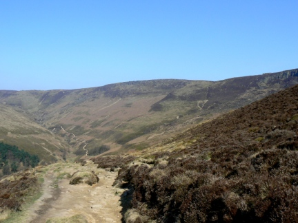 Upper Tor from the Nab
