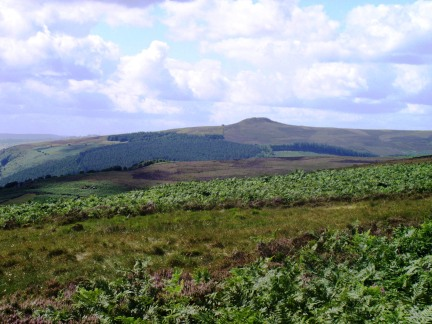 Win Hill from Derwent Moor
