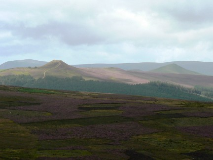 Win Hill from Stanage End