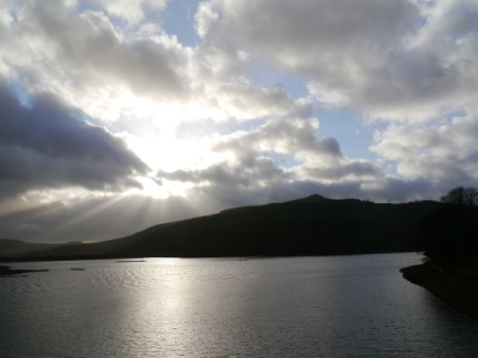Win Hill and Ladybower Reservoir