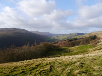 Woodlands valley from Open Hagg