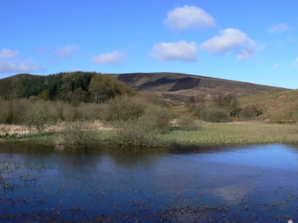 Black Hill and Glencorse Reservoir
