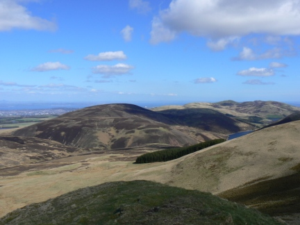 Black Hill and the northern Pentlands