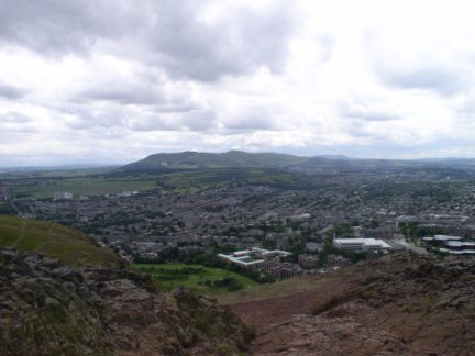 The Pentland Hills from Arthur's Seat