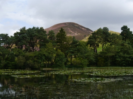 Eildon Mid Hill from Bowdenmoor Reservoir