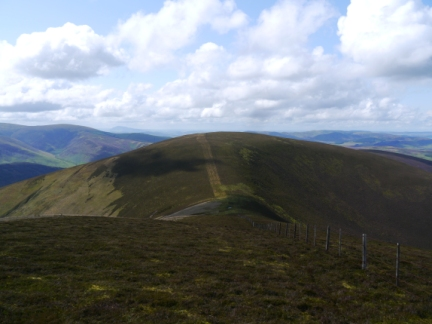 Stob Law in the Upper Tweedale National Scenic Area