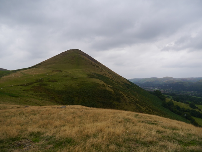 Caer Caradoc from Little Caradoc