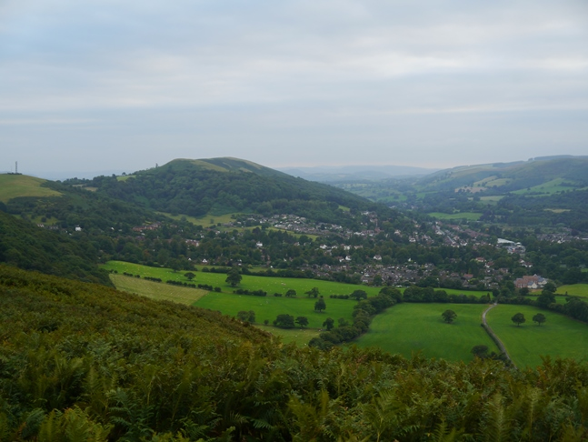 Ragleth Hill and Church Stretton