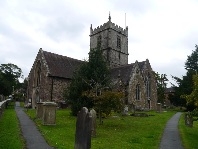 St Laurence's Church in Church Stretton