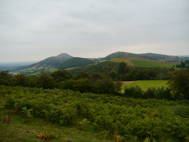 The Stretton Hills from Ragleth Hill