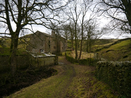 The abandoned house at Fiddling Clough