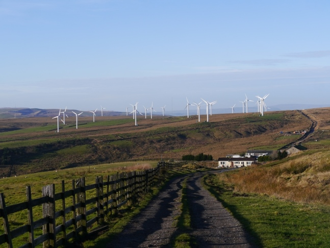 Coal Clough Windfarm