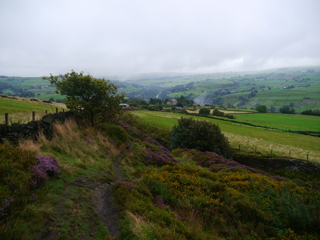 Descending into Calderdale