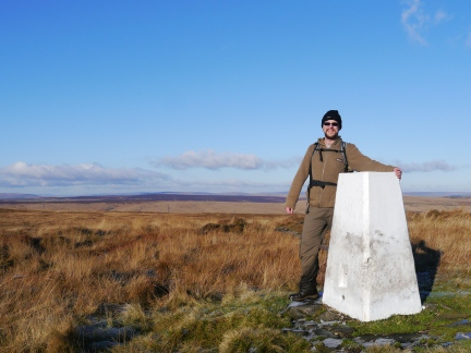 The trig point on Dog Hill