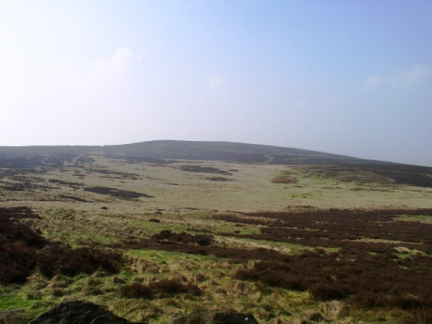 Elslack Moor rising to Pinhaw Beacon