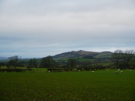 Flasby Fell from just outside Carleton-in-Craven
