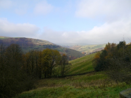 Looking down towards Gauxholme