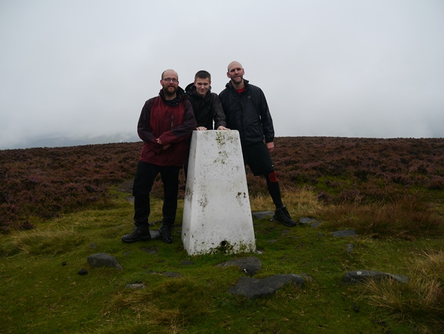 The trig point on Midgley Moor recorded on the OS database as 'Keelam'