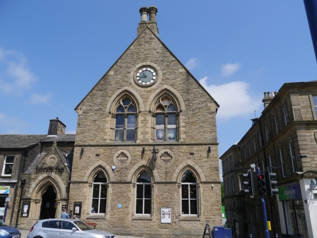 The old library in Bingley