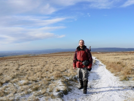 On the Pennine Way on White Hill