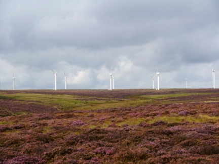 Ovenden Moor and Windfarm