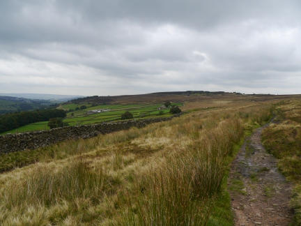 Penistone Hill from the Bronte Way