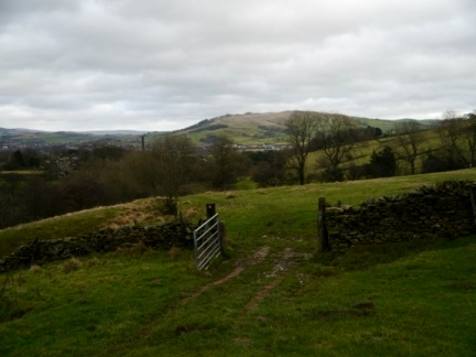 An early view of Skipton Moor