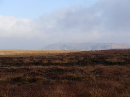 Looking towards Stoodley Pike