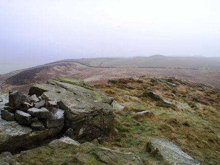 The view east from Skipton Moor