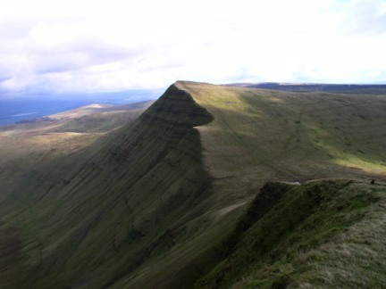 Cribyn from Pen y Fan
