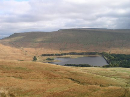 Upper Neuadd Reservoir and Fan y Big