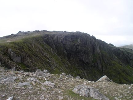 Approaching the top of Glyder Fawr