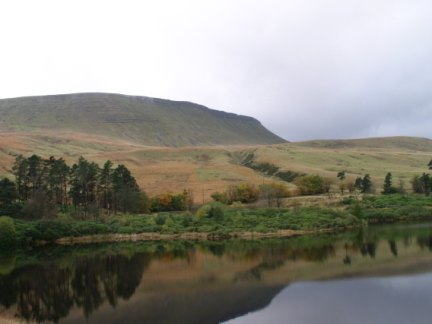 Lower Neuadd Reservoir and Graig Fan Ddu