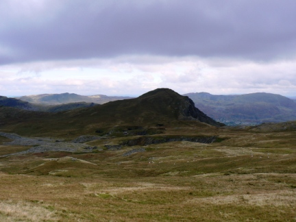 Looking back at Moel-yr-hydd