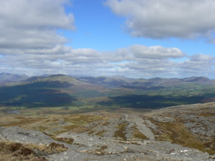 The Moelwynion from Foel Penolau