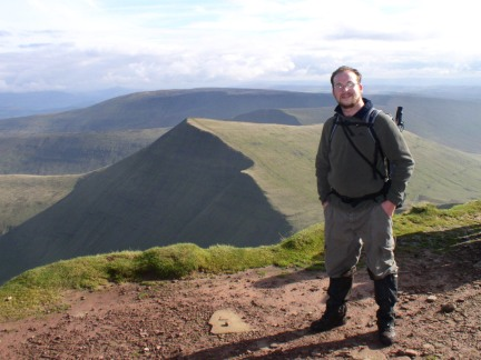 On the top of Pen y Fan