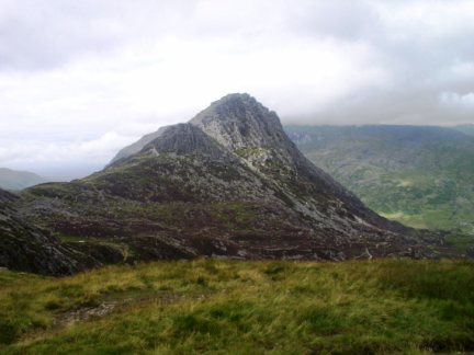 Tryfan from the top of the Miner's Path