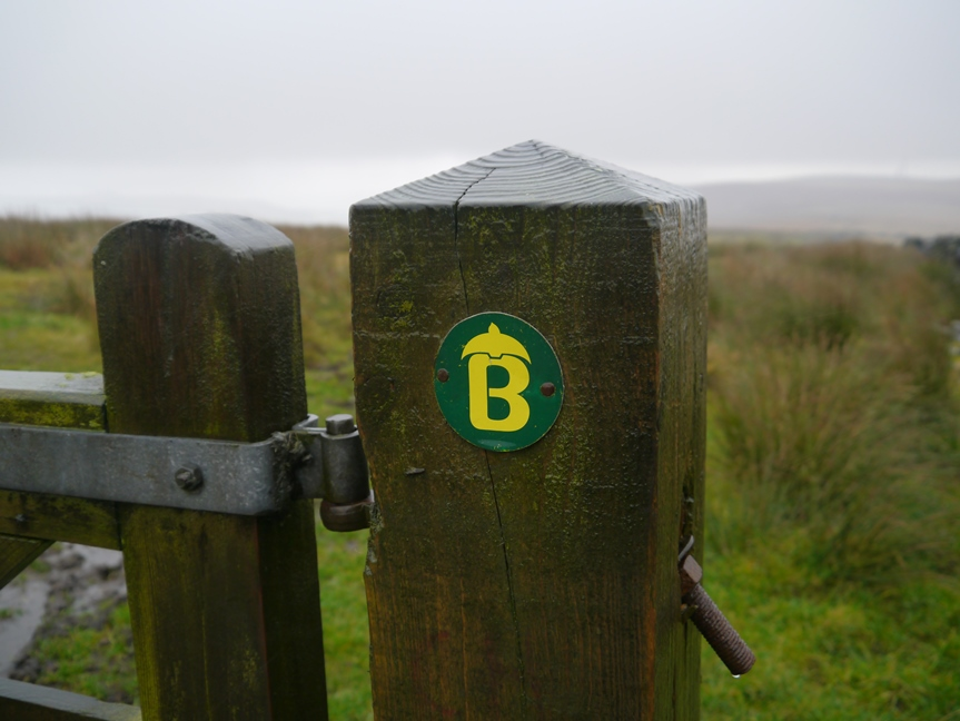 From Thieveley Pike we followed the Burnley Way on to Heald Moor