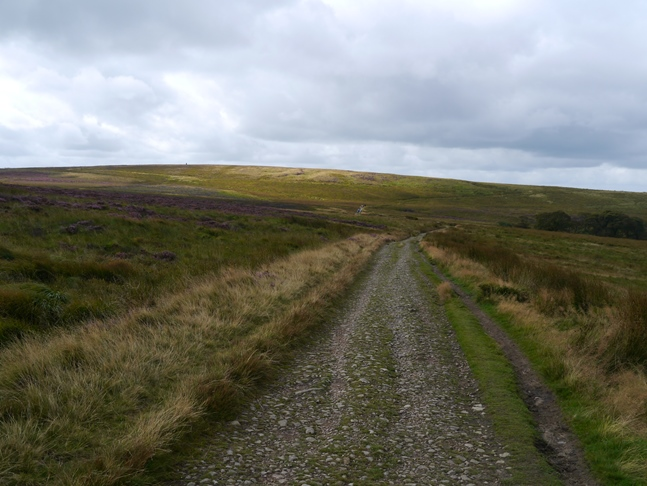 Approaching Cartridge Hill