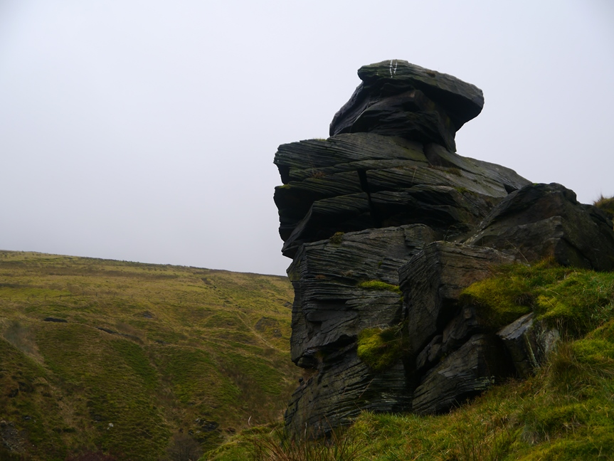 Some of the rocks on Dean Scout