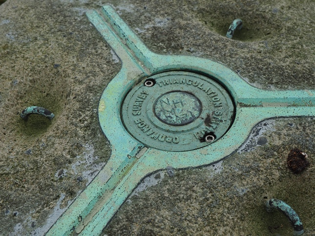 There are not too many trig points that still have their plug