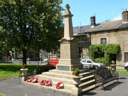 Hoddlesden War Memorial