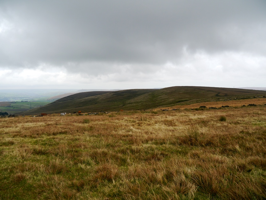 Looking back at Rough Hill