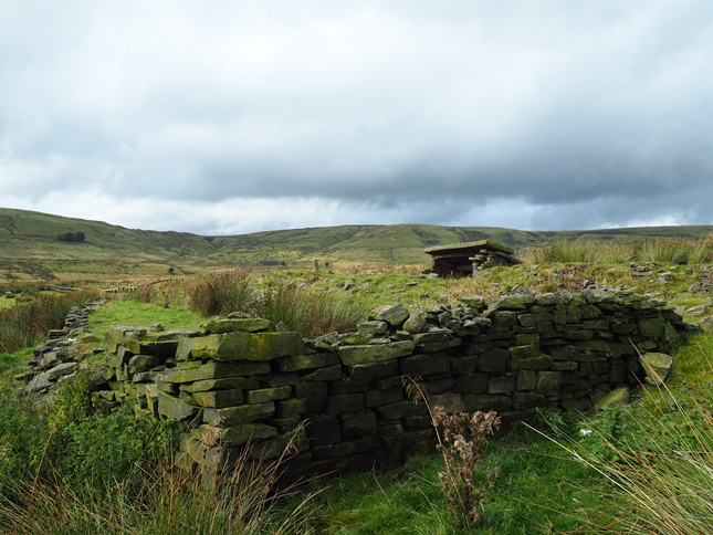The ruin of another old house above Watergrove Reservoir