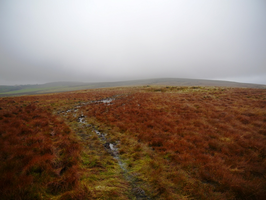 Looking back at Thieveley Pike
