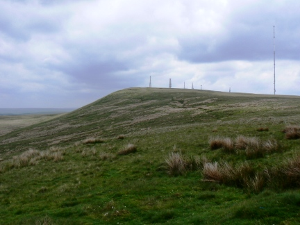 Winter Hill from Noon Hill